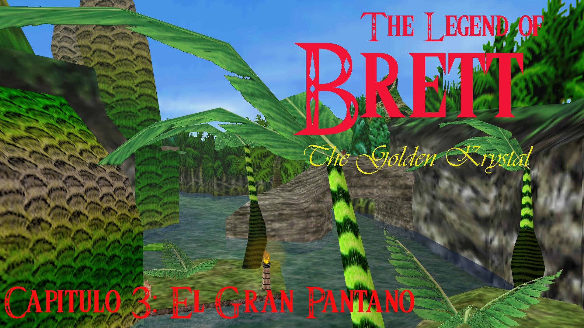 AnewLegend/The Legend of Brett: The Golden Krystal/Capítulo 3/El Gran Pantano