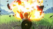 Guardián Explosionando BotW