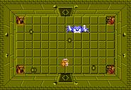 Link frente a Gohma en el Nivel 6 (Segunda Búsqueda) TLoZ