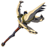 Breath of the Wild Moblin Spears Dragonbone Moblin Spear (Icon)
