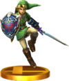 SSBfN3DS Link Trophy Model.png
