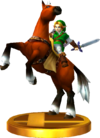 SSBfN3DS Epona Trophy Model.png