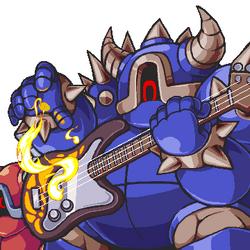 Bass Guitarmos Knights