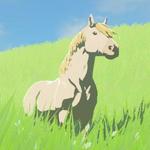 BotW Hyrule Compendium White Horse.png