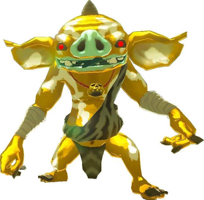 Golden Bokoblin Zelda Wiki