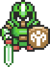A Swordsman sprite from Four Swords Adventures