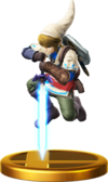 SSBfWU Link (Alt.) Trophy Model.png