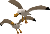 TWW Seagull Figurine Model.png