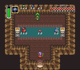 Link To The Past - Lake Hylia Shop Interior.png