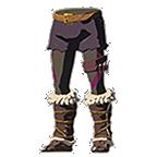 BotW Barbarian Leg Wraps Purple Icon.png