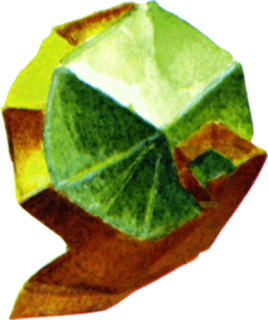 OoT Spiritual Stone of the Forest Artwork.png