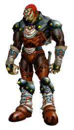 Ganondorf in Ocarina of Time