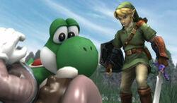 Link defeats Mario.jpg