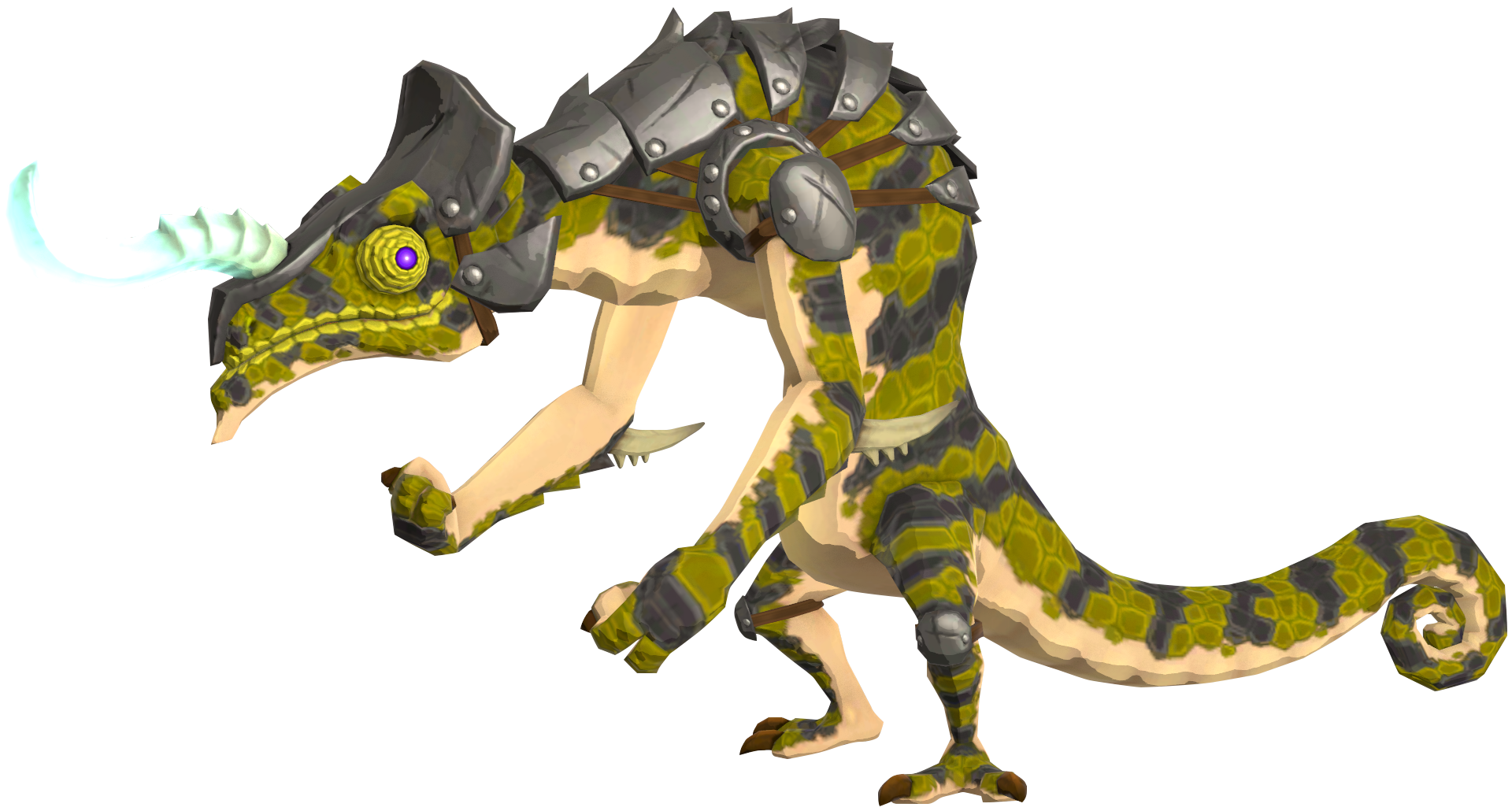 BotW_Electric_Lizalfos_Model.png