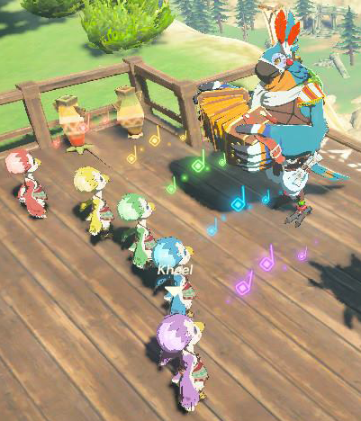 Kass Zelda Wiki Talk with bedoli during the day on one the landing platforms found throughout rito village. kass zelda wiki