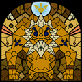 TWW Darunia Stained Glass.png