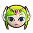 HWDE Toon Zelda Mini Map Icon.png