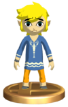 SSBB Outset Link Trophy Model.png