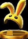 SSBfWU Bunny Hood Trophy Model.png