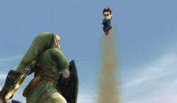 Mario attacks Link.jpg