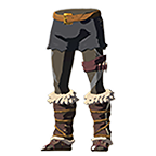 BotW Barbarian Leg Wraps Gray Icon.png