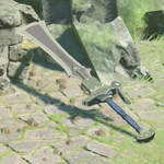 BotW Hyrule Compendium Knight's Claymore.png