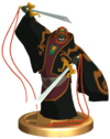 SSBB Ganondorf (Wind Waker) Trophy Model.png