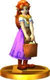 SSBfN3DS Malon Trophy Model.png