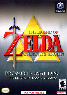 Zelda Collectors Edition Boxart