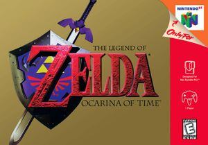 Ocarina of Time US Boxart