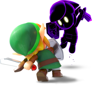LANS Link Fighting Shadow Link Render.png