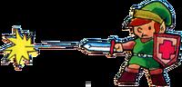 TLoZ Link Shooting Sword Beam Artwork.png