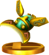 SSBfN3DS Beetle Trophy Model.png