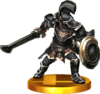 SSBfN3DS Darknut Trophy Model.png