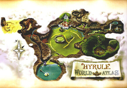 Places In Ocarina Of Time Zelda Wiki