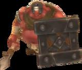 A Metal Shield Moblin in Skyward Sword