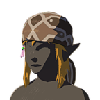 BotW Climber's Bandanna Brown Icon.png