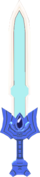 The powerless Master Sword from The Wind Waker