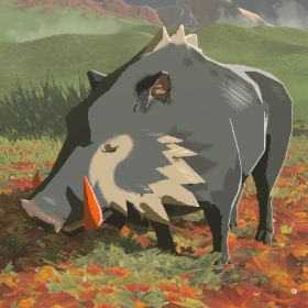 BotW Hyrule Compendium Red-Tusked Boar.png