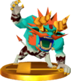 SSBfN3DS Demon King Malladus Trophy Model.png