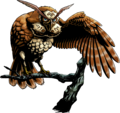 MM3D Kaepora Gaebora Artwork.png