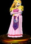 SSBM Zelda (Smash) Trophy Model.png