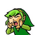 TFH Green Link shouting.png