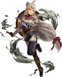 Impa as she appears in Age of Calamity