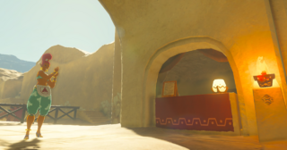 BotW Sand-Seal Rental Shop Southeast Booth.png