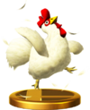 SSBfWU Cucco Trophy Model.png