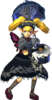 HW Agitha Master Quest Standard Outfit Model.png