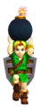 OoT3D Young Link Bomb Render.png
