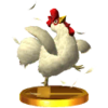 SSBfN3DS Cucco Trophy Model.png
