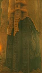 BotW Gerudo Yiga Clan Hideout Statue Sword Text.jpg